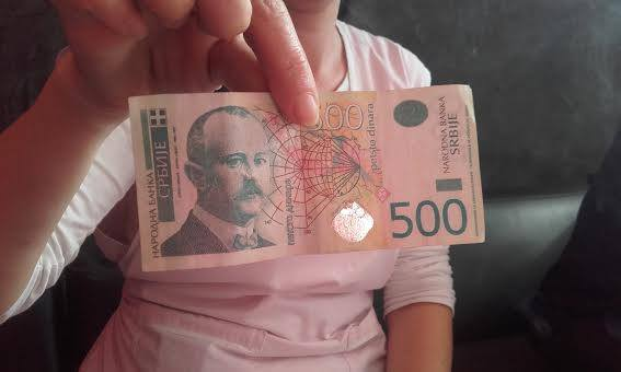 OPREZ Pojavile se lažne novčanice od 500 dinara