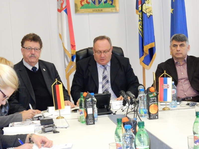 Fuhtel najavio novi kredit Srbiji u razgovoru s leskovačkim gradonačelnikom