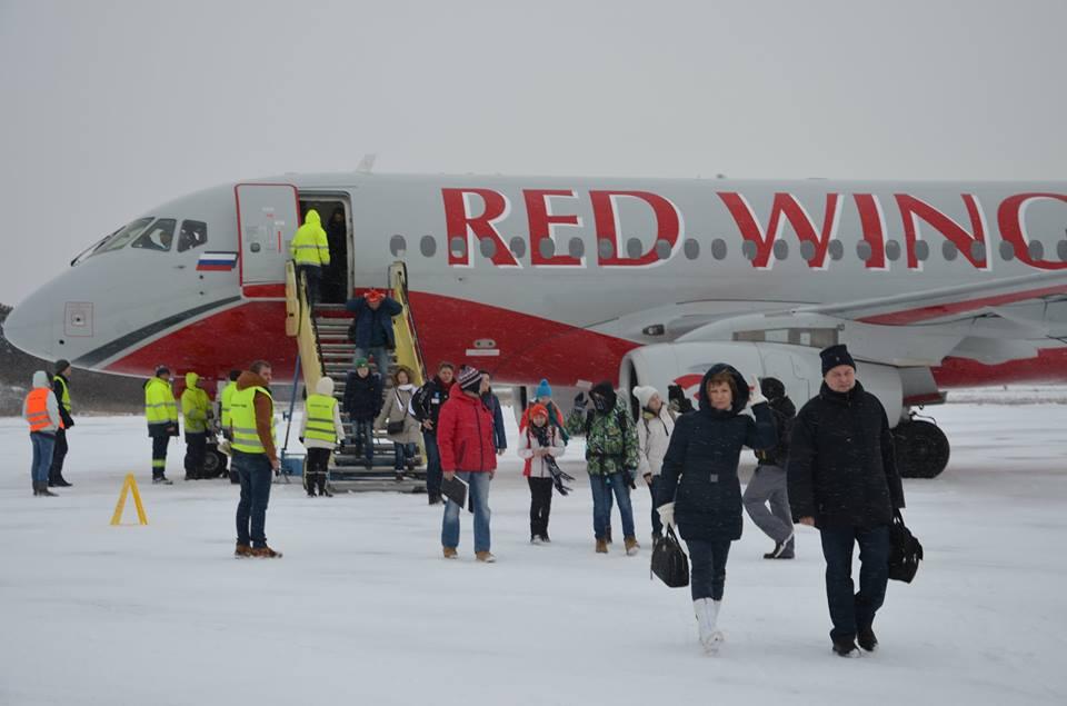 Sleteo avion sa turistima iz Kaluge