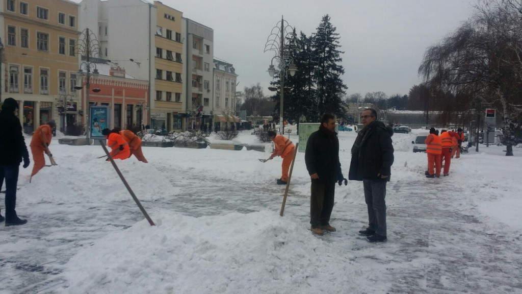 Sva javna preduzeća angažovana na račišćavanju ulica