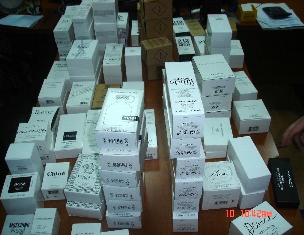 Tutinac krijumčario parfeme i testere