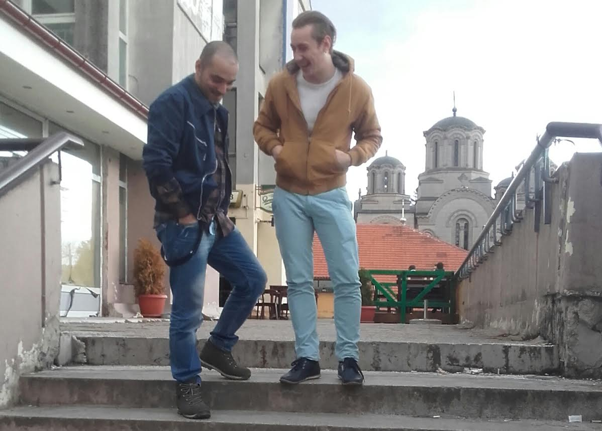 Filip Radivojević u razgovoru sa novinarom Jugmedie