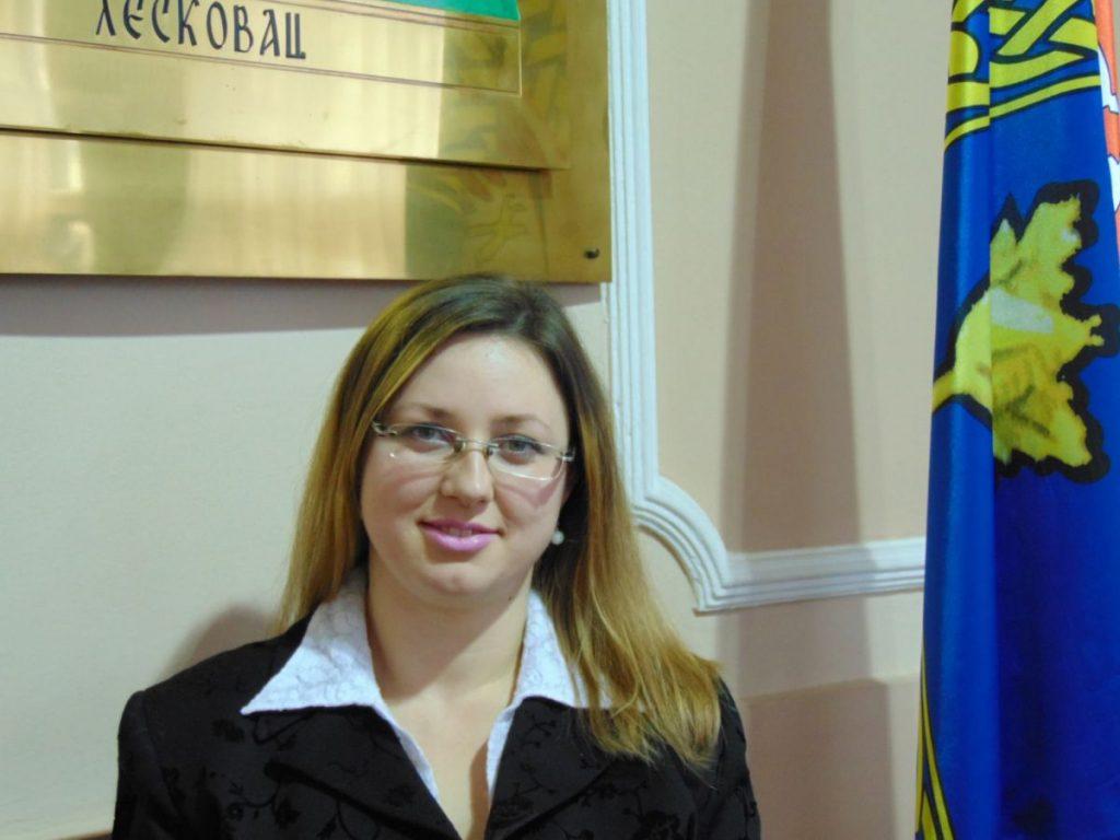 Doktorka Marija Stojiljković nova gradska većnica