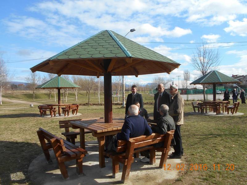 Nov parkovski mobilijar u Gradskoj opštini Medijana