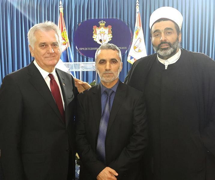Muftija Saćipi jedini Albanac na proslavi Dana državnosti Srbije