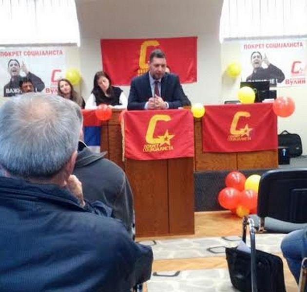Miroslav Ljubenović ponovo na čelu Pokreta socijalista