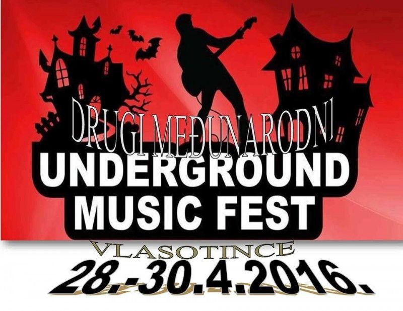 Prijavljivanje za Underground rok festival