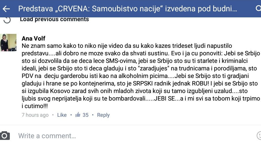 """Leskovačka odbornica """"ispsovala"""" Srbiju"""