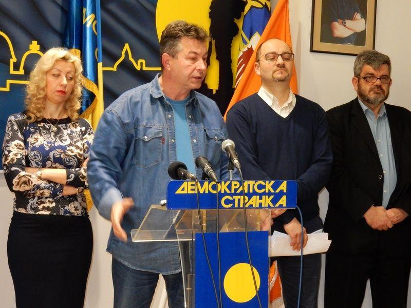 DS poziva na hitan dogovor za fer i poštene izbore (VIDEO)