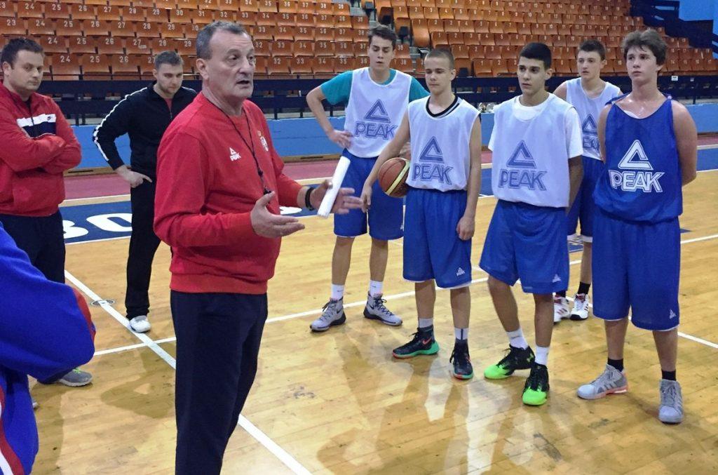 Edukativni trening Boška Đokića za mlade košarkaše