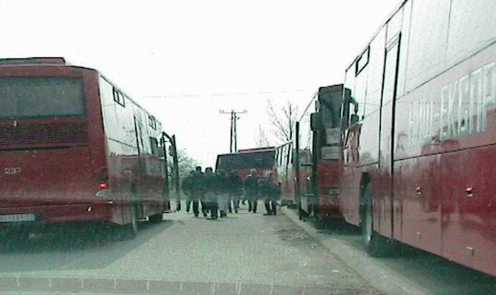 Naprednjaci sa sela na miting u Beograd autobusima, a oni iz grada vozovima