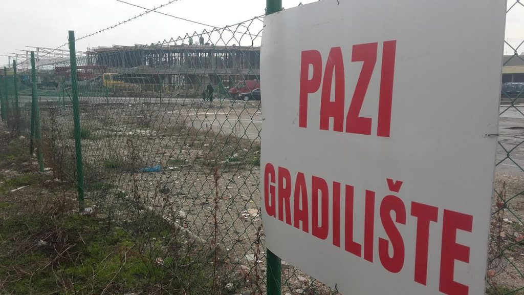 Kako napreduje izgradnja nove Zelene pijace (FOTO)