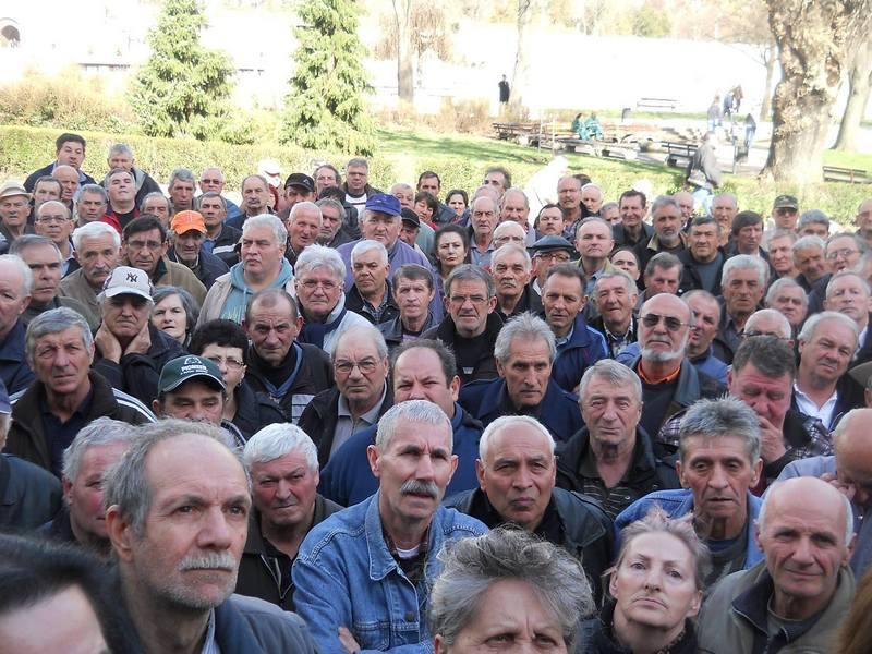 Novi protest radnika u Nišu zbog zaostalih plata
