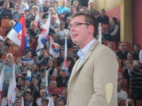 Odložen Vučićev miting u Leskovcu