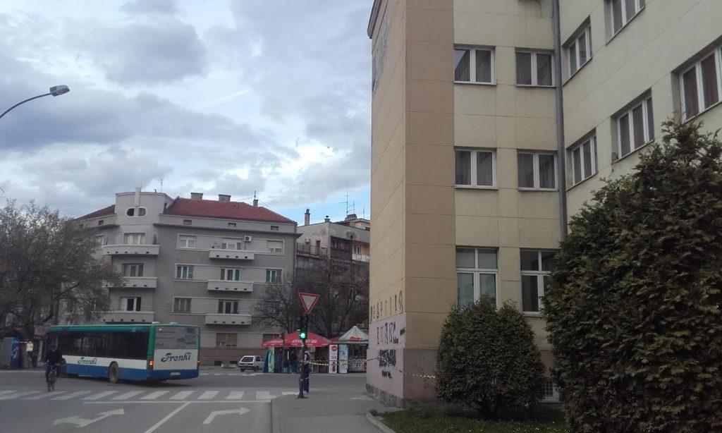 Otpadaju delovi fasade sa Tehnološkog fakulteta (FOTO)