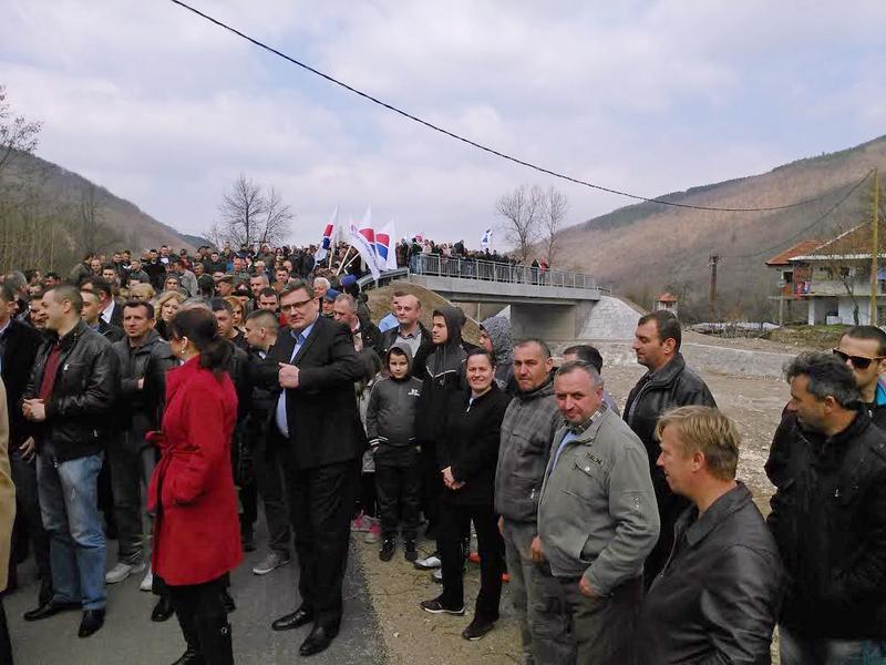 Ministarka Mihajlović otvorila most u Trgovištu