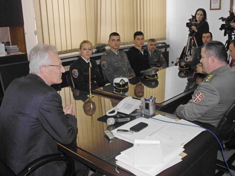 Promocija Vojne akademije u Vlasotincu