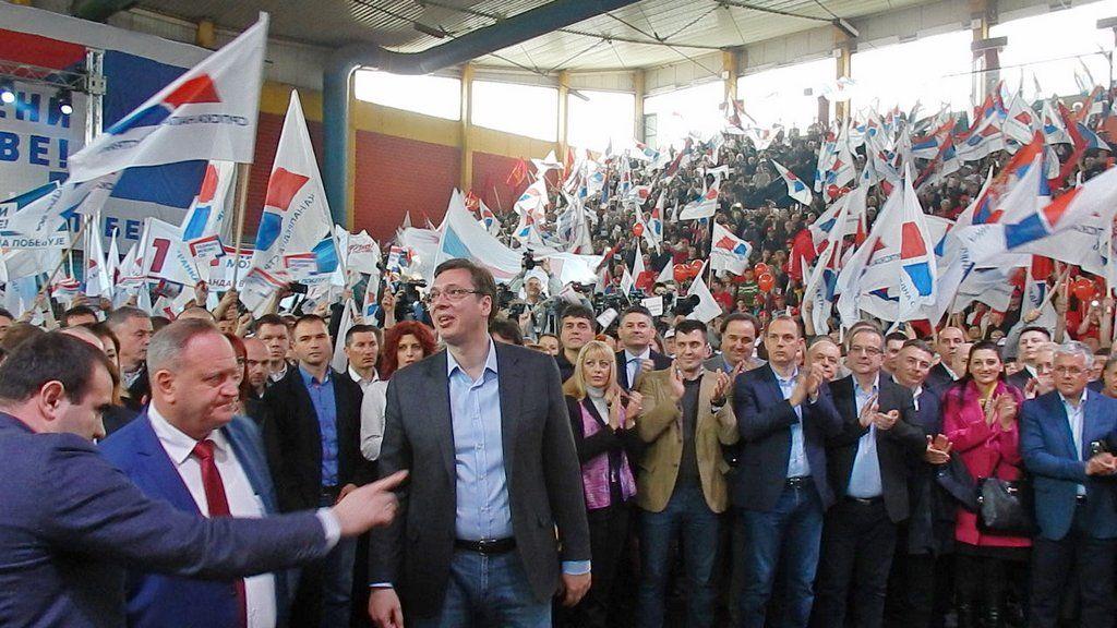 Vučić u petak u Leskovcu, očekuje se 10.000 pristalica i simpatizera