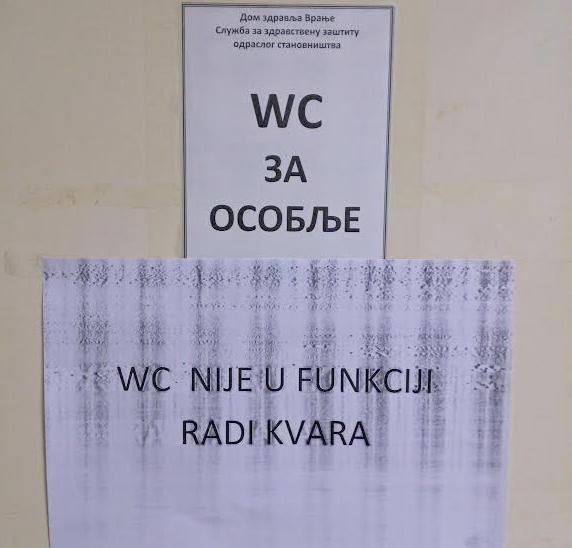Genitiv muči i zdravstvene radnike u Vranju