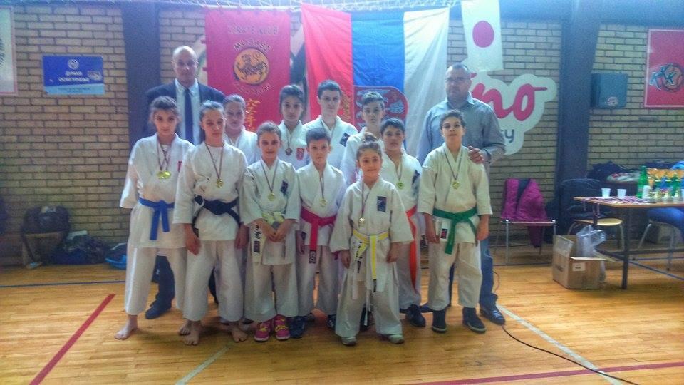 Leskovački karatisti osvojili 12 medalja