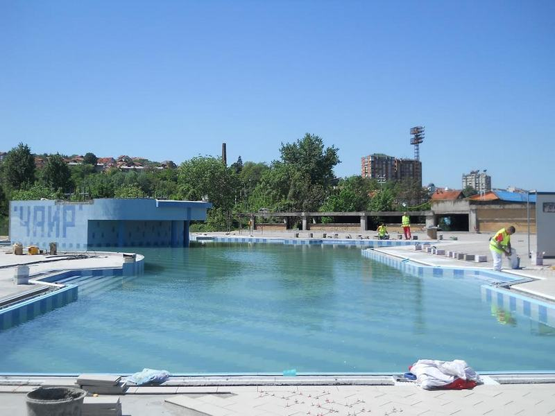 Rekreativni bazen u Čairu skoro završen