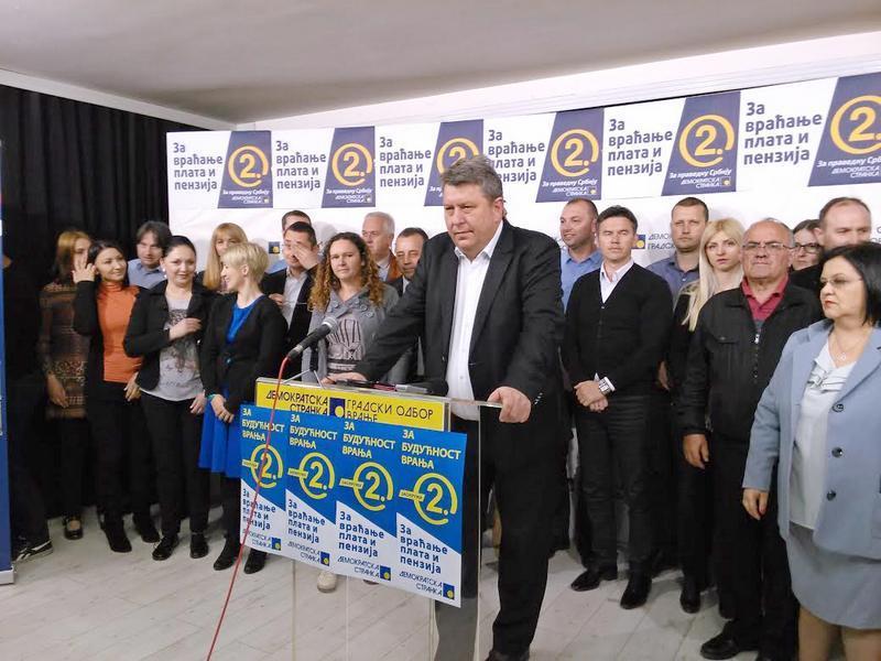 Stamenković: Svaki glas za DS, siguran glas protiv SNS