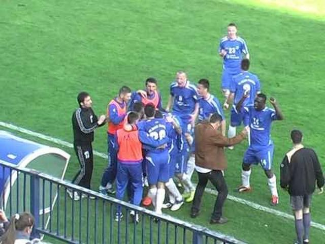 Snima se fudbalska utakmica u Surdulici