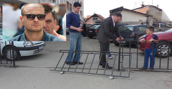 Provocirali predsednika omladine SPS-a, on im autom oborio kapiju