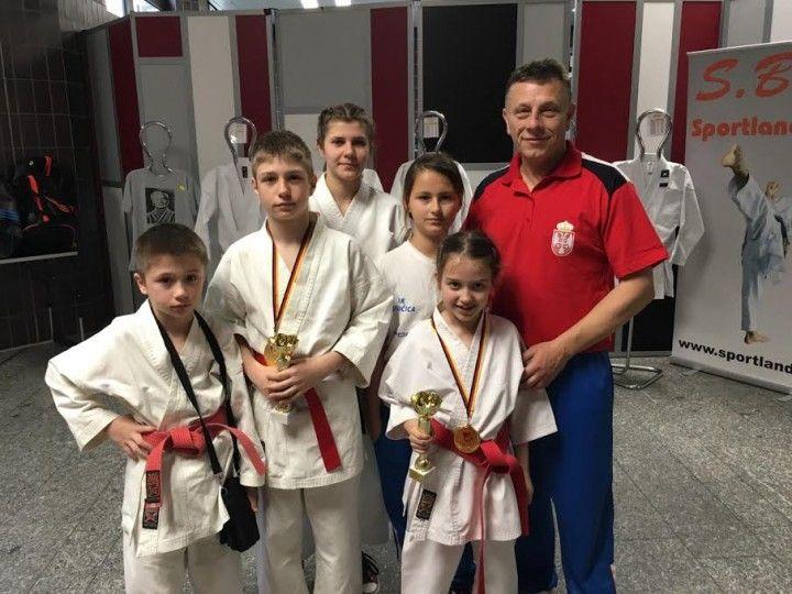 Karatisti Dubočice osvojili dve zlatne medalje na evropskom prvenstvu