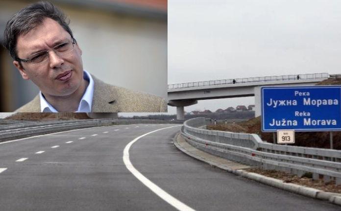 Vučić u ponedeljak otvara auto-put od Grabovnice do Grdelice
