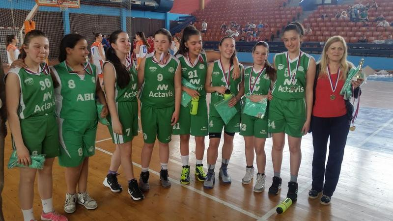 Svi pobednici gradskog takmičenju u košarci