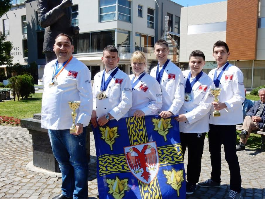Leskovački kuvari-studenti napunili kofere zlatom