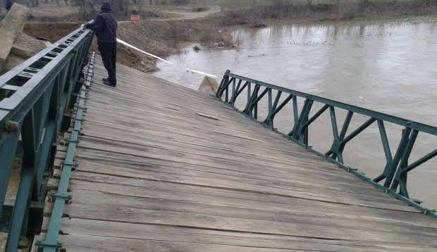 Počele priprema za sanaciju urušenog mosta preko Južne Morave