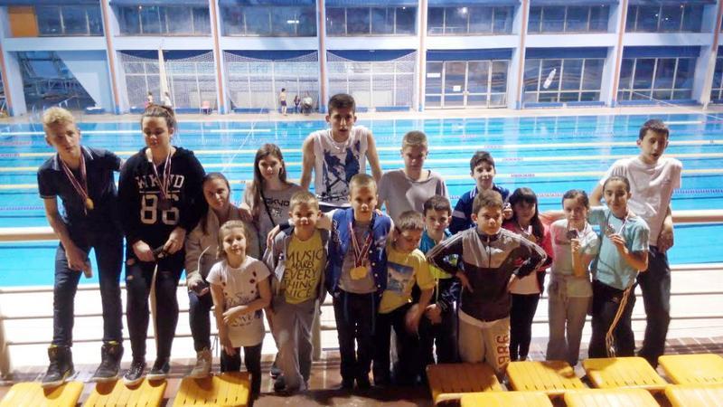 Četrnaest plivača osvojilo 14 medalja