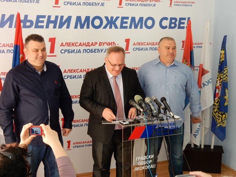 Goran Cvetanović i SPS-ov kandidat za gradonačelnika (VIDEO)