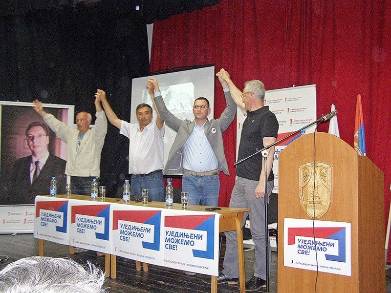 Kampanju SNS u Vlasotincu nose mladi