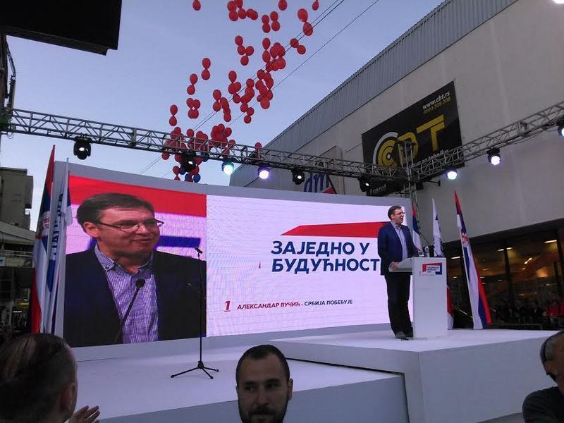 Vlasotinčani podržali Vučića za kandidata na predsedničkim izborima