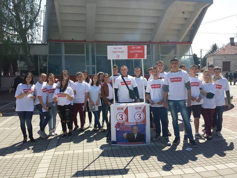 Mladi socijalisti u agitaciji