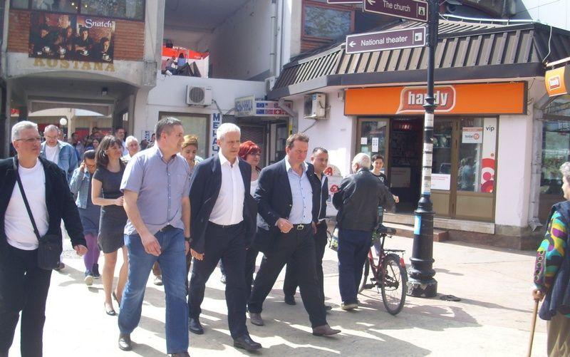 Boris Tadić: Građani imaju za koga da glasaju
