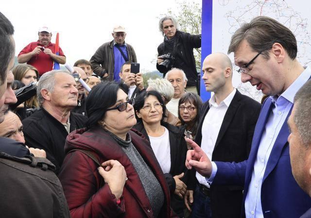Šta su Grdeličani tražili od Vučića (VIDEO)