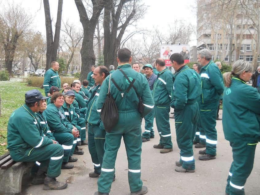 Komunalci u borbi za dostojanstvo