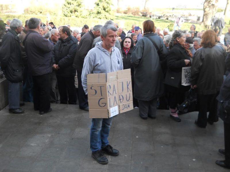 Radnici propalih niških firmi kreću u Beograd po plate