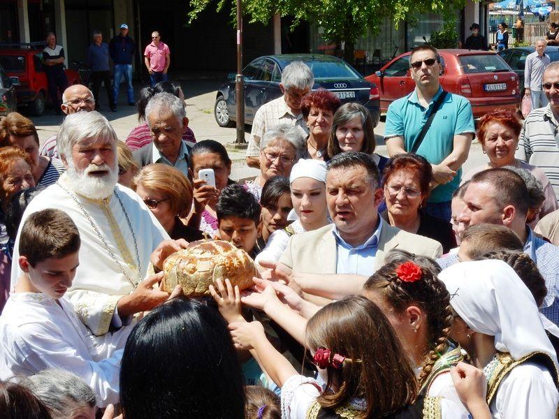 Vlasotinačani kod Krsta obeležili gradsku slavu