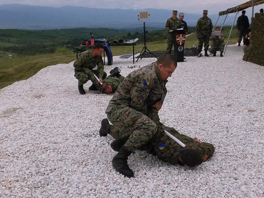 VEŽBA Vojnici iz Srbije, Bosne, Makedonije i Crne Gore savladali teroriste