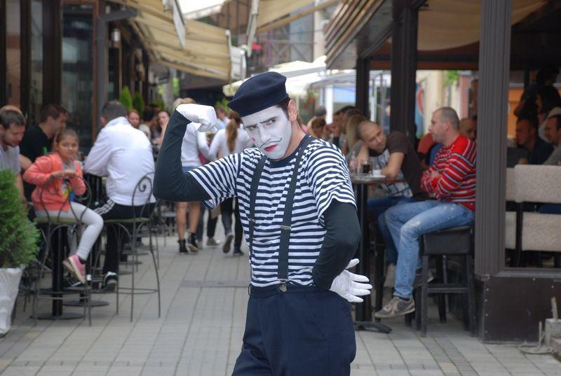 Pantomimičar Paul Kozma na P(h)antomfestu