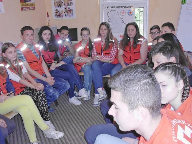 Mladi Vlasotinčani u akcijama Crvenog krsta