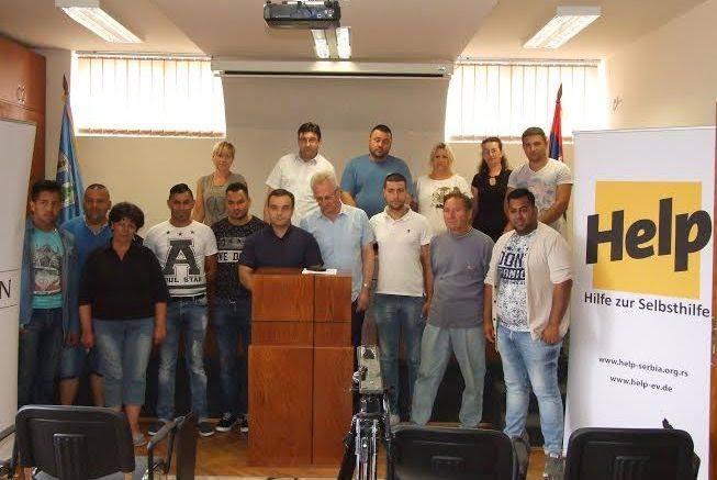 Posao za Romkinje uz pomoć Helpa i opštine Vlasotince