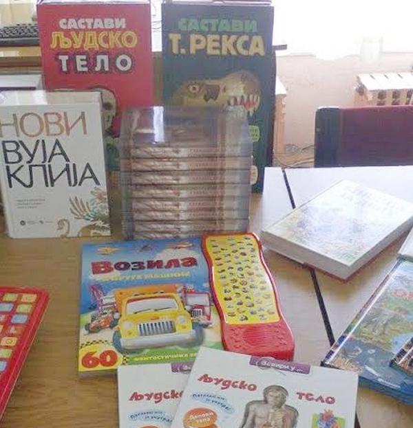 Donatori opremaju biblioteku Specijalne škole