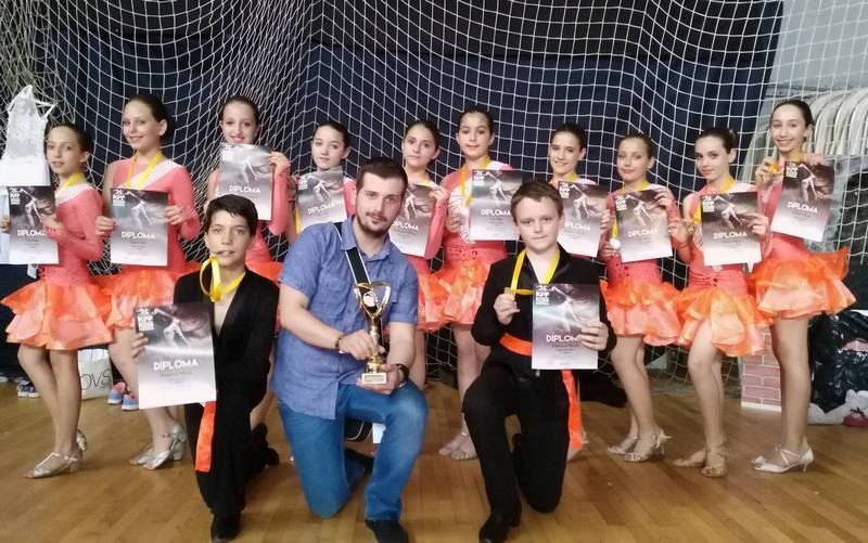"Briljantnim plesačima ""Step by Step"" nagrade i u Kragujevcu"