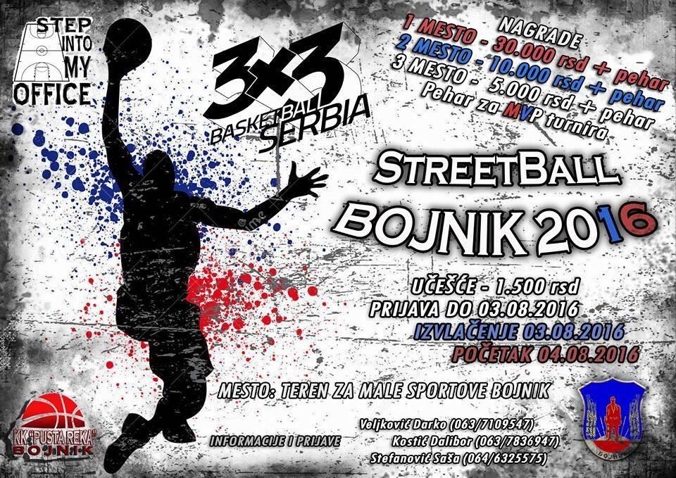 "Street Basketball turnir ""3na3"" u Bojniku"